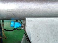 <b>气体输送中微波固体流量开关安装示例图</b>